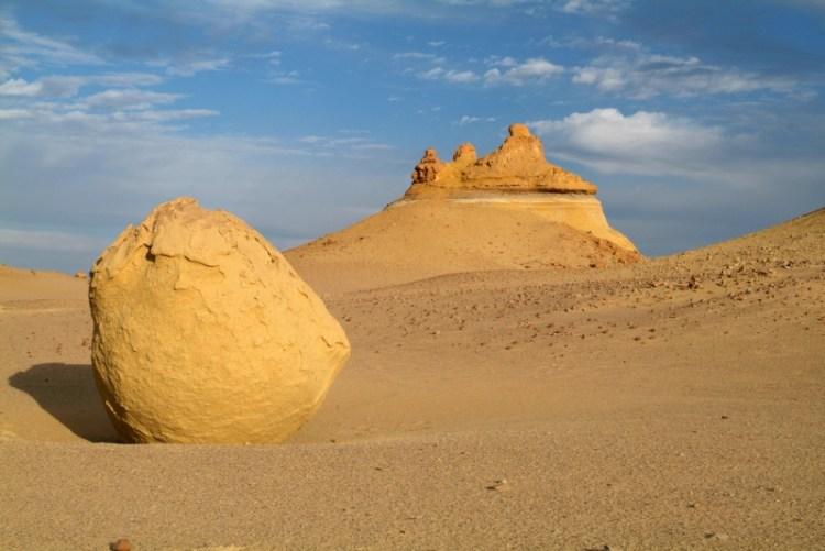 Белая пустыня в Египте. Красивые картинки. Фото