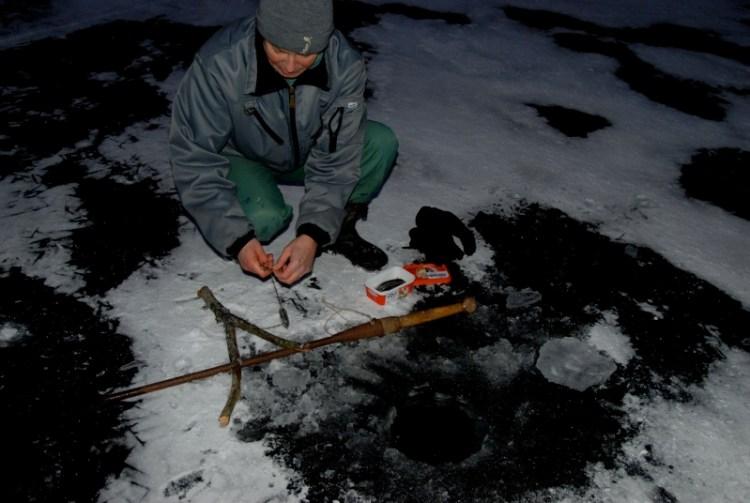 Аландские острова. Зимняя рыбалка. фото