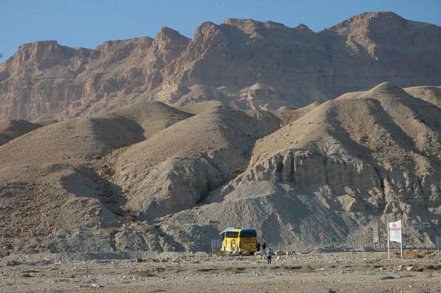 Горы вокруг Мертвого моря. Израиль. Фото