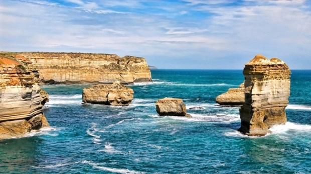 Национальный парк Порт Кэмпбелл в штате Виктория, Австралия. Фото