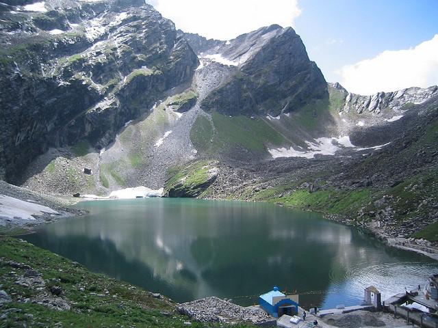 Долина Цветов в Гималаях. Озеро Хемкунд Сахиб