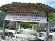 Matinloc Shrine entrance