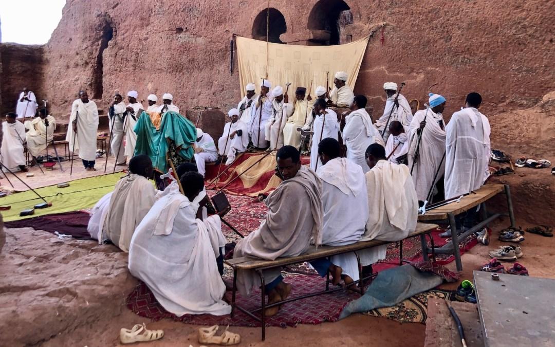 Jerusalem ligger i Etiopien