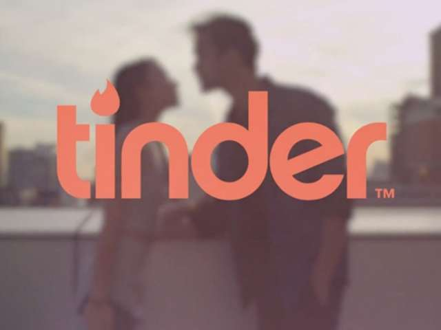 The logo for Tinder