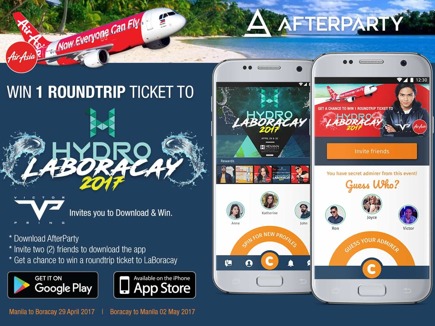 AfterParty Air Asia at Hydro Laboracay 2017