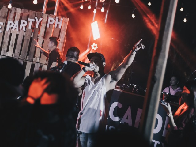 Victor Pring at Bacardi House Party