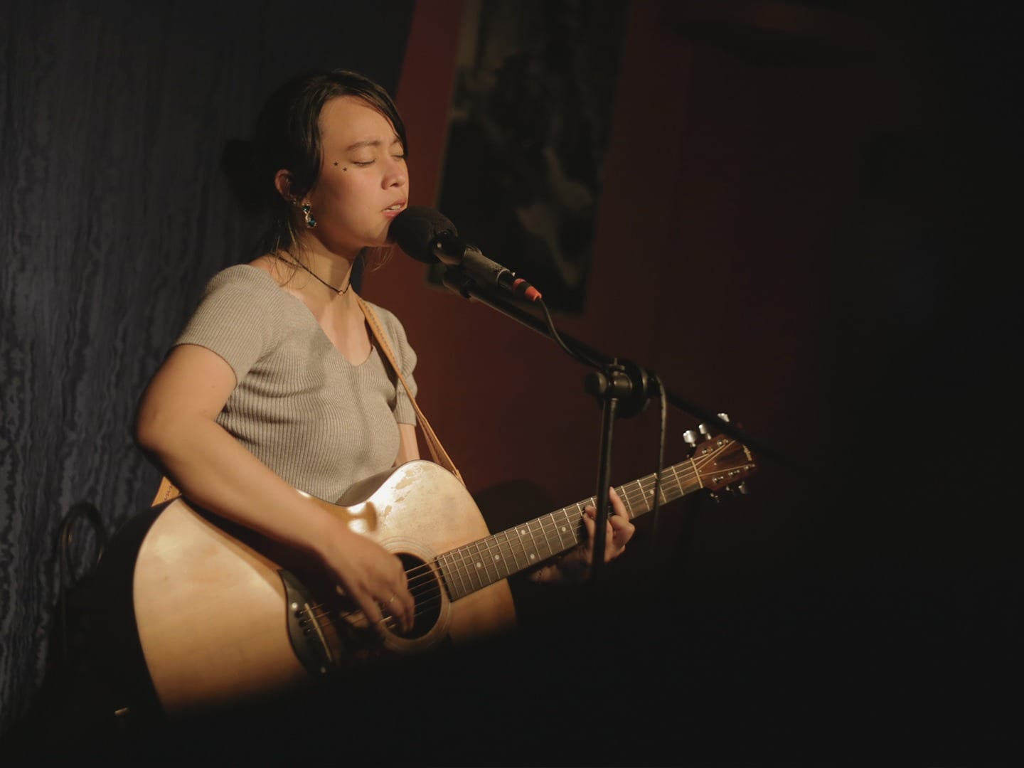 Reese Lansangan acoustic performance