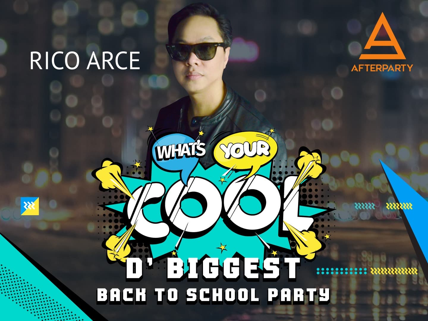 DJ Rico Arce for What's Your Cool