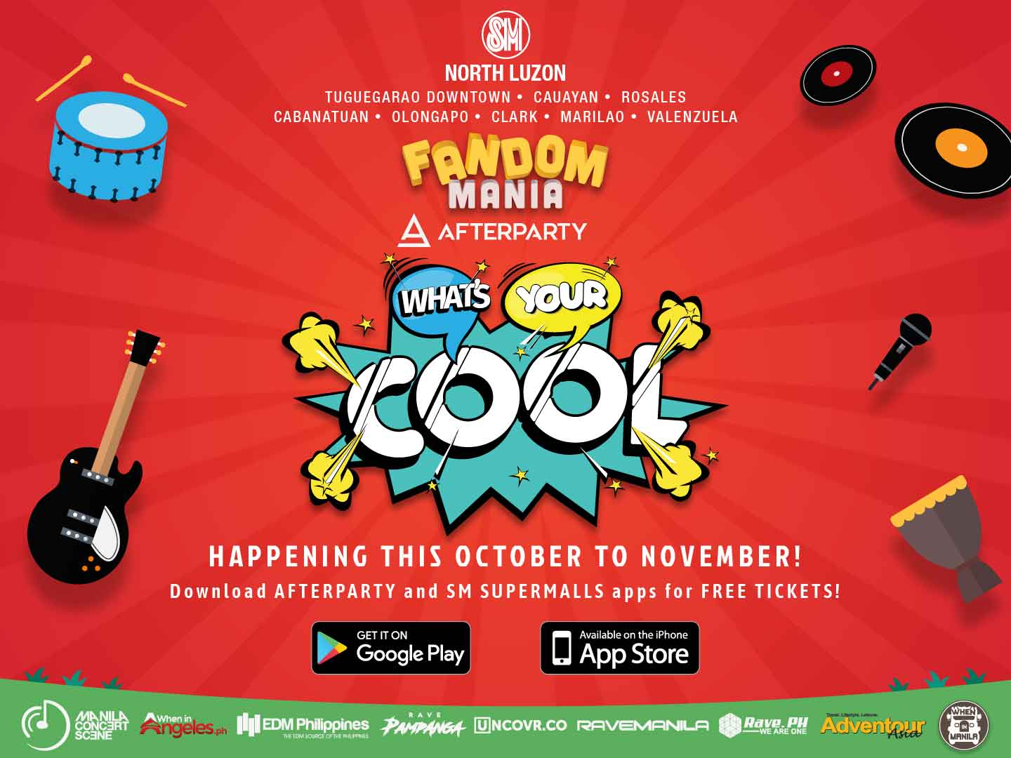 Fandom Mania presents What's Your Cool