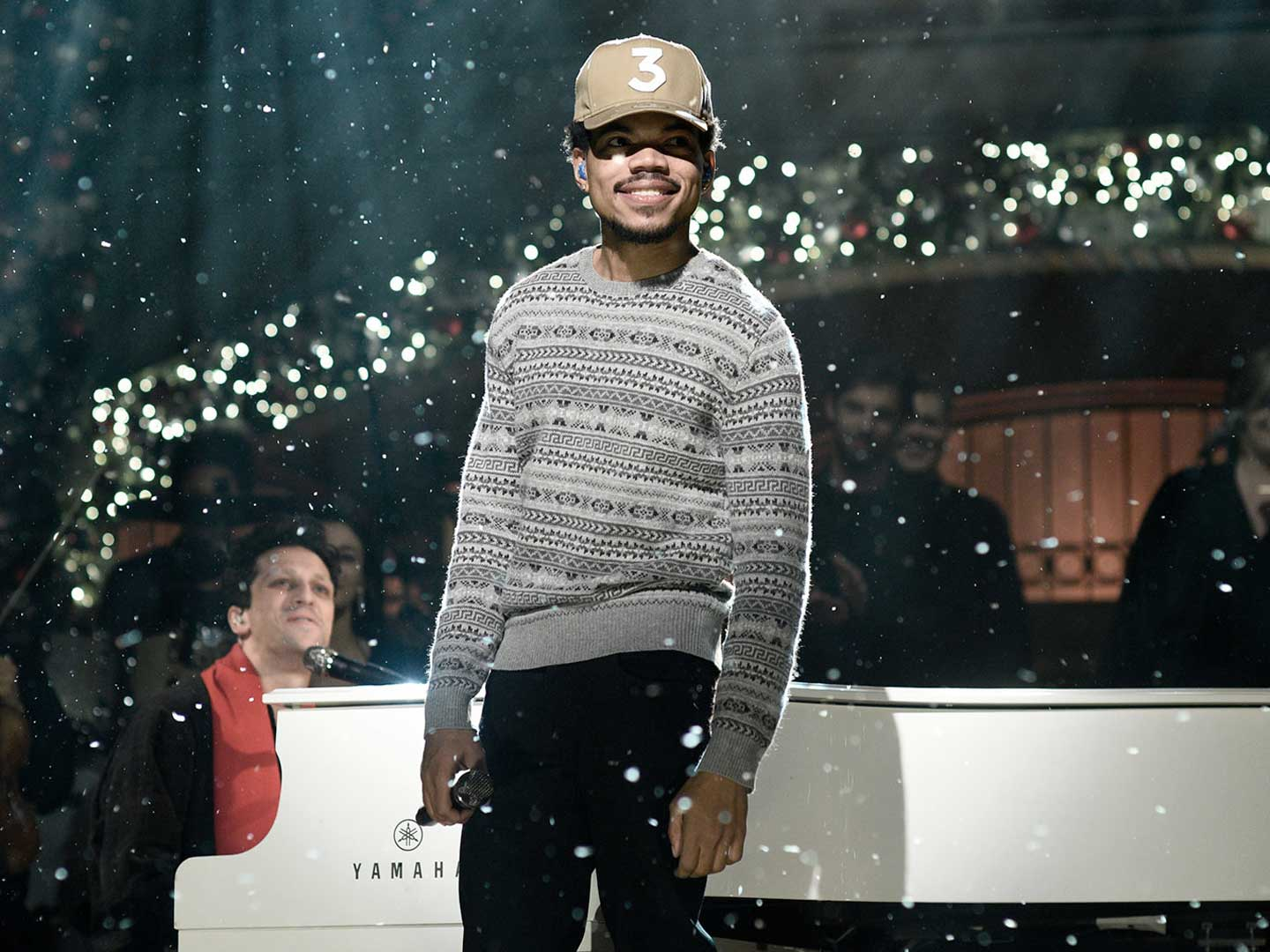 Chance the Rapper live for SNL