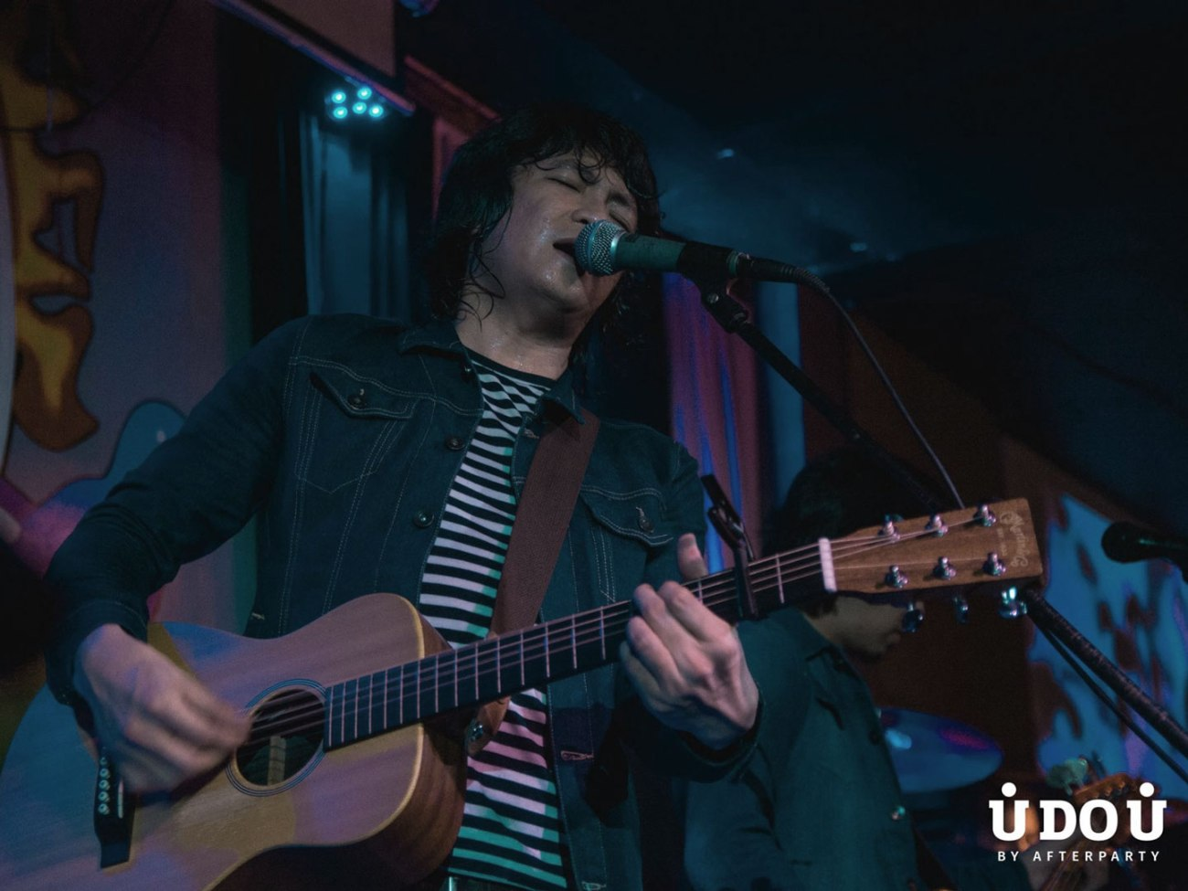Clem Castro of Orange & Lemons live at the 70s Bistro for Armageddon is Coming to Town