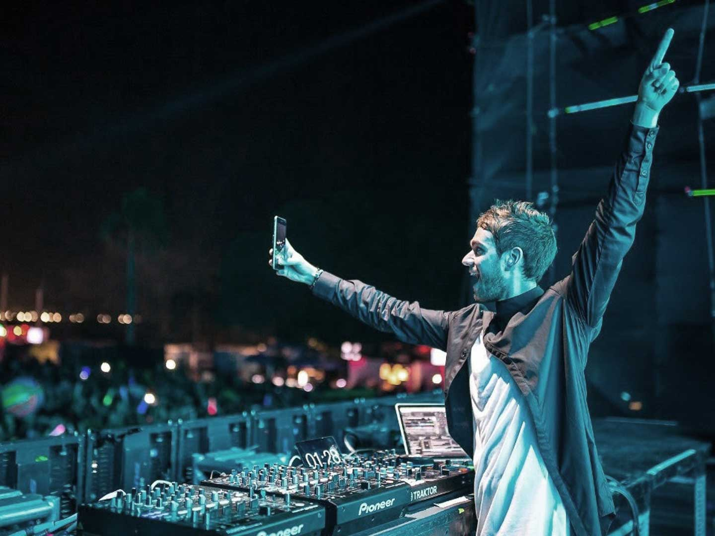 Zedd performing live at Ultra Music Festival 2017