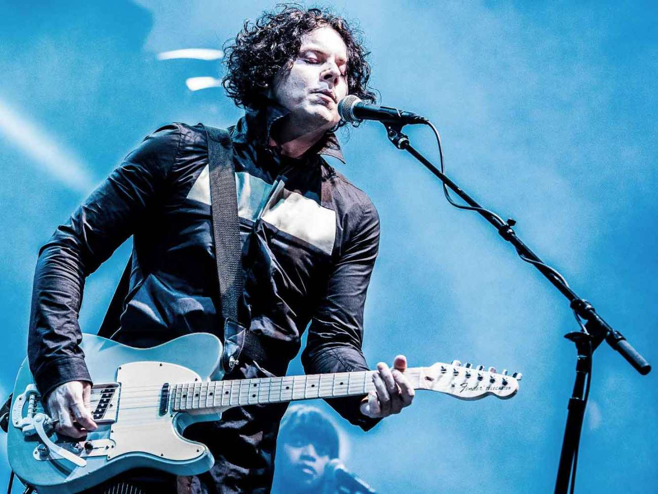 Jack White performing live