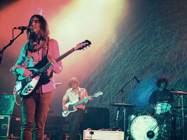 Tame Impala performing live