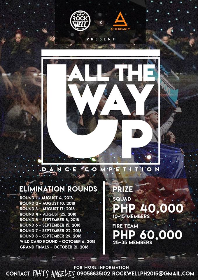 ALL THE WAY UP DANCE COMPETITION