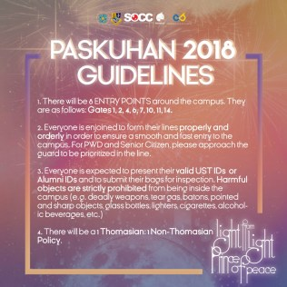 Paskuhan Guidelines