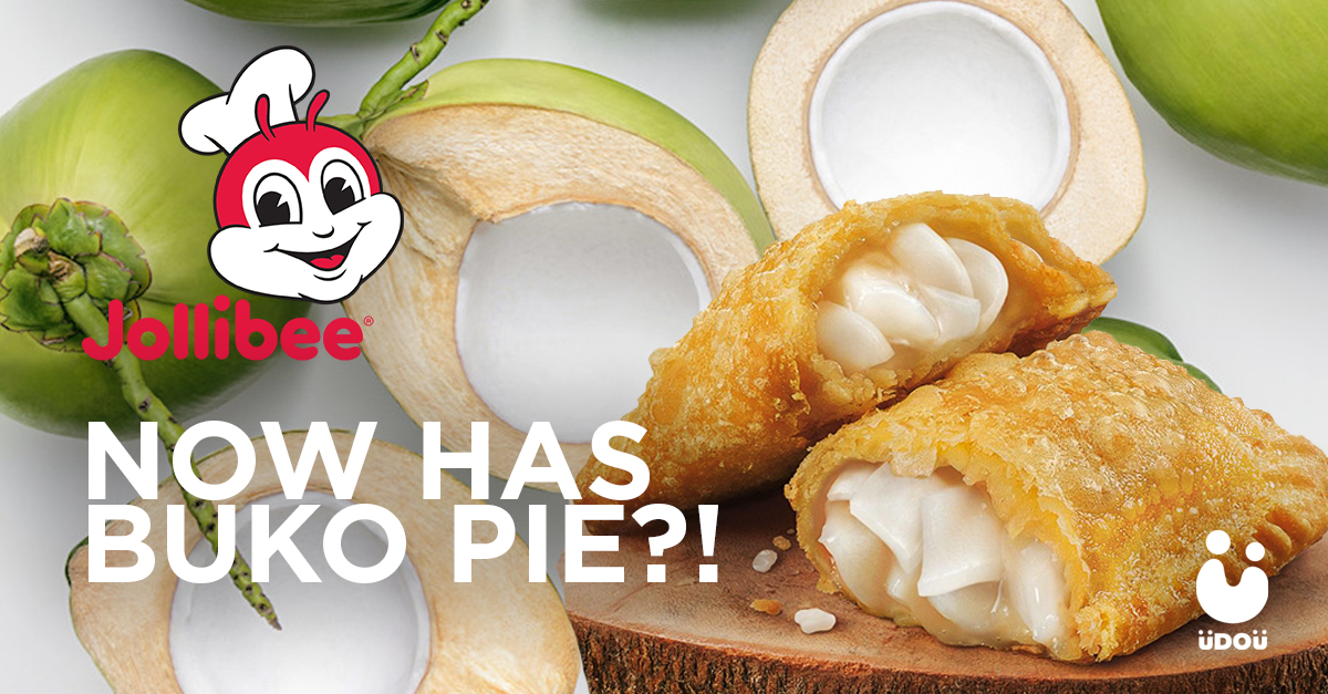 jollibee now has buko pie