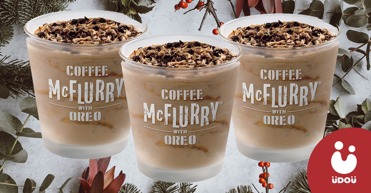 coffee oreo mcflurry