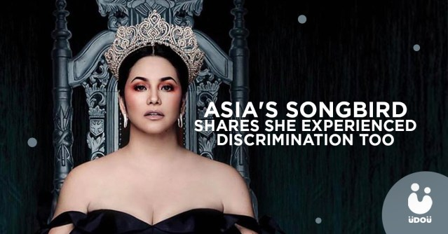 asia's song bird shares she experienced discrimination too