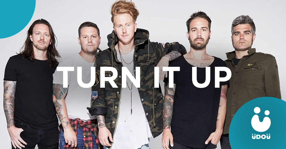 Turn It Up by We The Kings Single U Do U Header