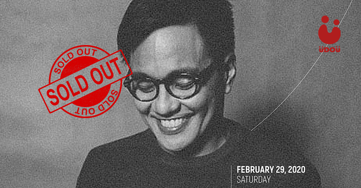 Ebe Dancel Concert Tickets are sold out U Do U Header