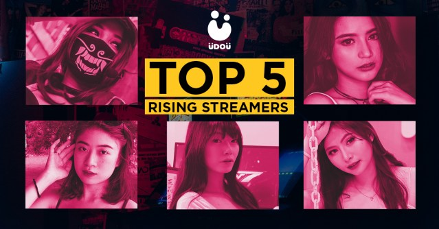 Weekly Top 5 Rising Female Streamers