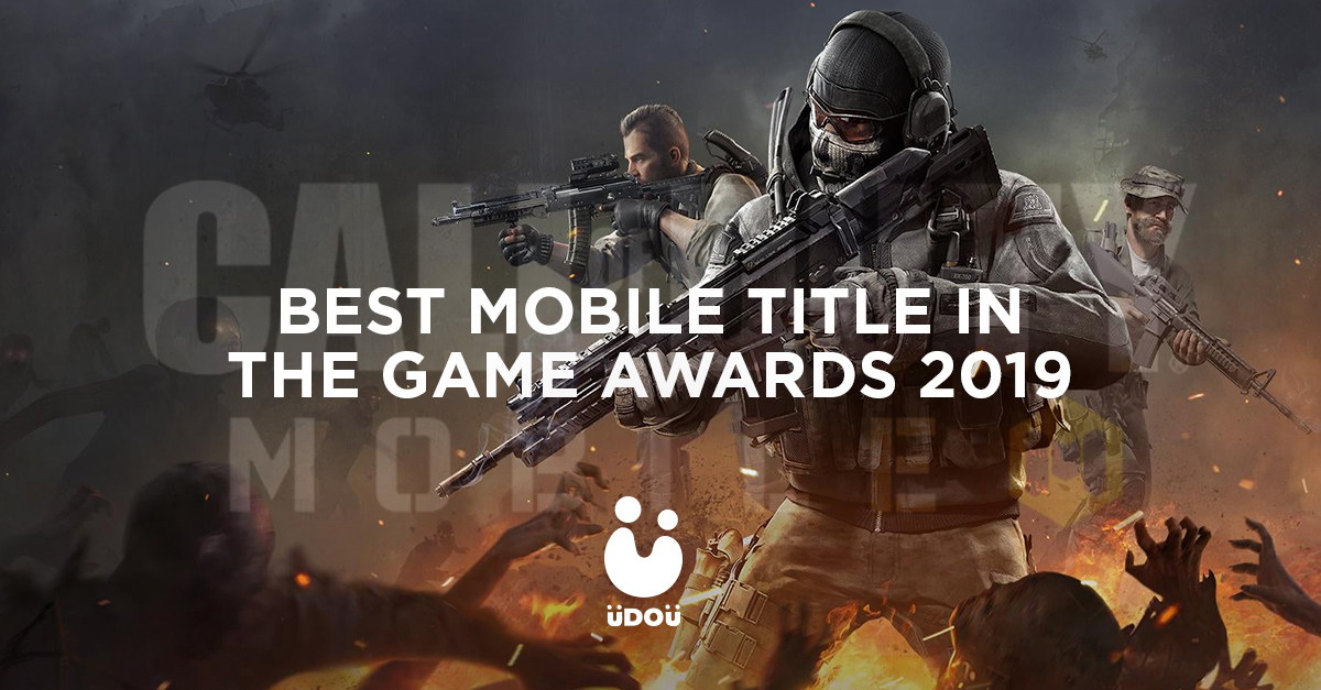 Call of Duty Mobile best mobile game The Game Awards 2019
