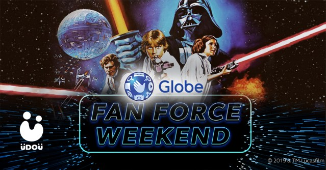 Star Wars Globe Fan Force Weekend U Do U Header