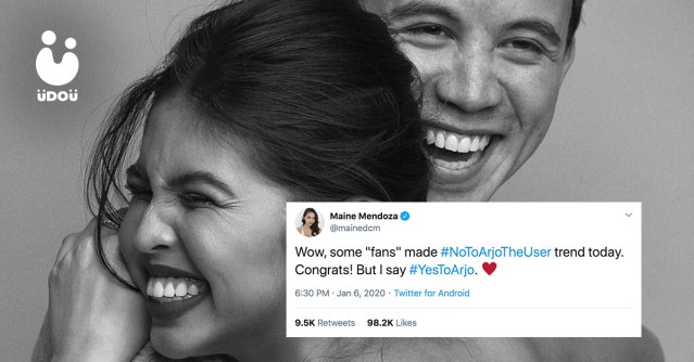 Maine Mendoza and Arjo Atayde U Do U Header