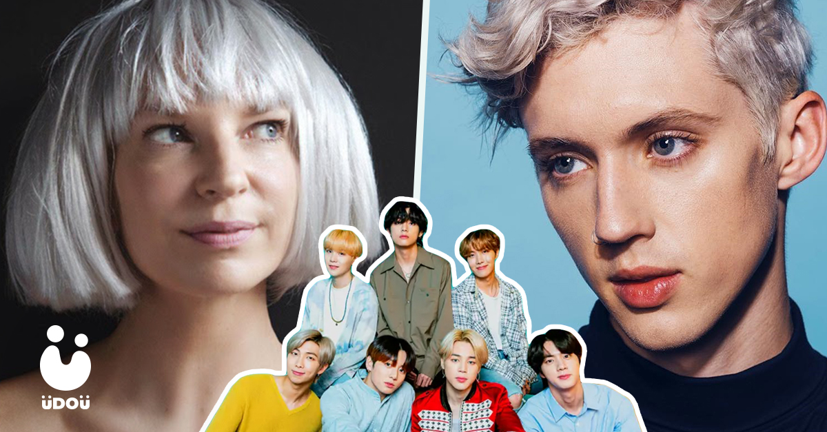 BTS with Sia and Troye Sivan U Do U Header