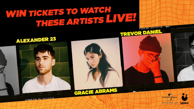 Win Tickets to Watch Alexander 23, Trevor Daniel and Gracie Adams