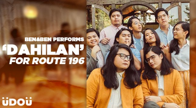 Ben&Ben performs Dahilan at Route 196's farewell gig
