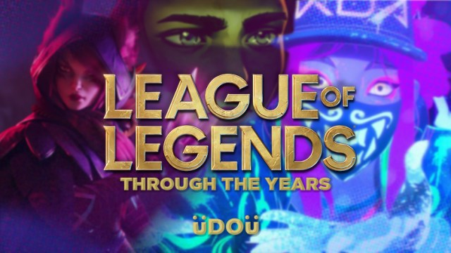 League of Legends through the years