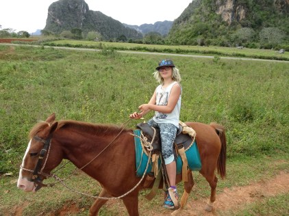Horse riding in Viñales