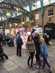 A spot of shopping in Covent Garden