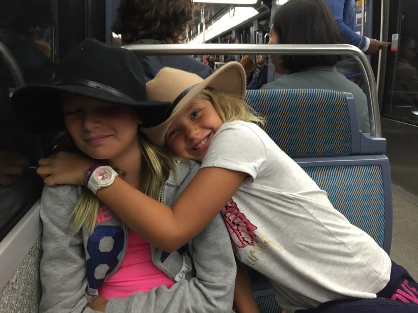 L'amour dans le métro