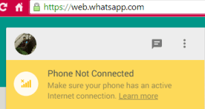 whatsapp-not-connected to internet