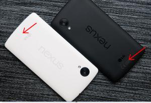 Nexus 5 different models