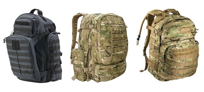 militär-rucksäcke auswahl