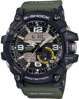 casio g shock MUDMASTER GG-1000-1A3JF MENS tactical watch