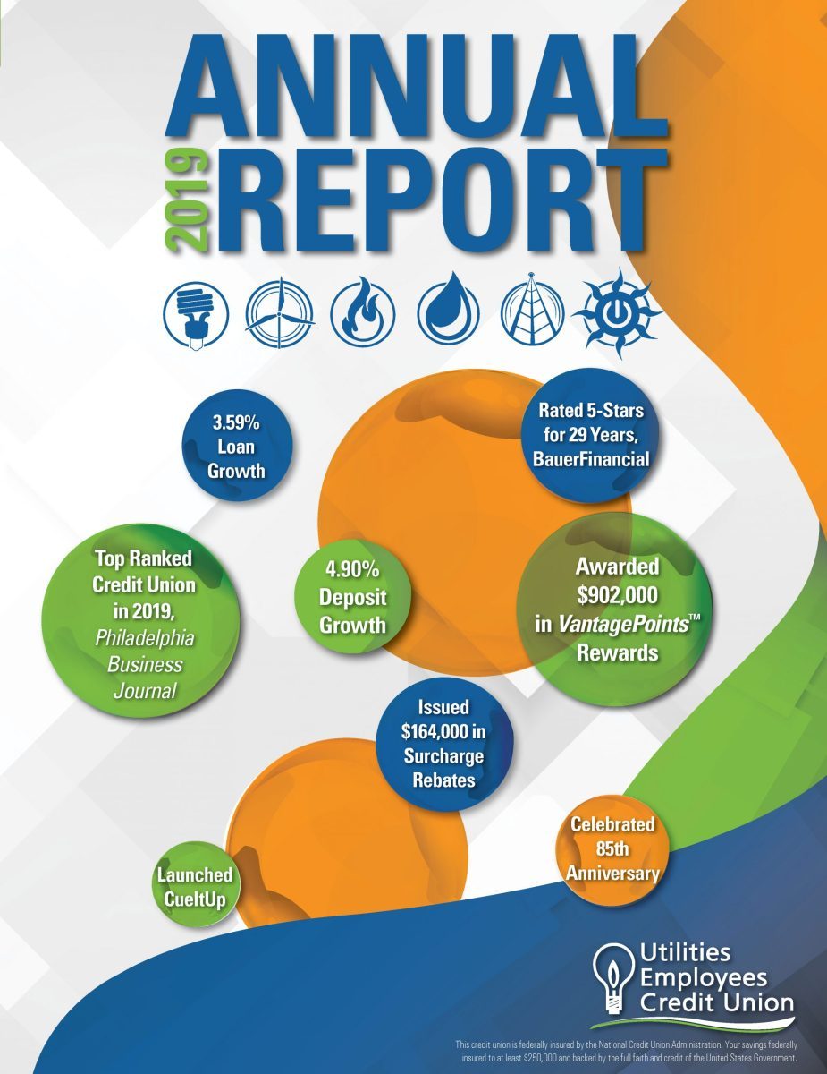 Image of 2019 UECU Annual Report cover