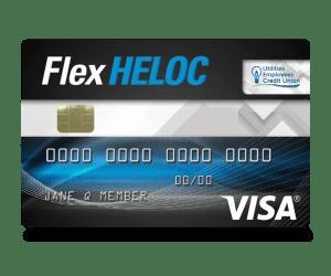 A Sample Flex Heloc Card