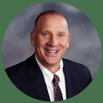 Portrait of Terry Larkin, VP of Member Experience