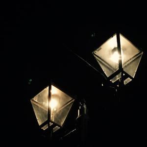 大手町通りのガス灯