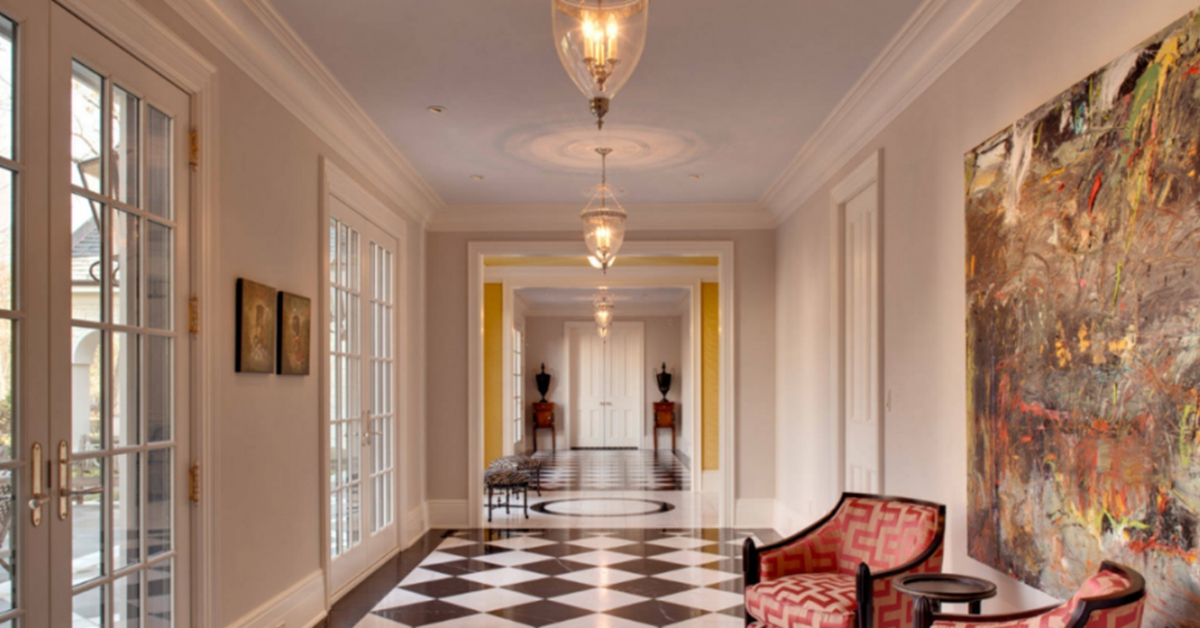 foyer ideas how to build a well lit