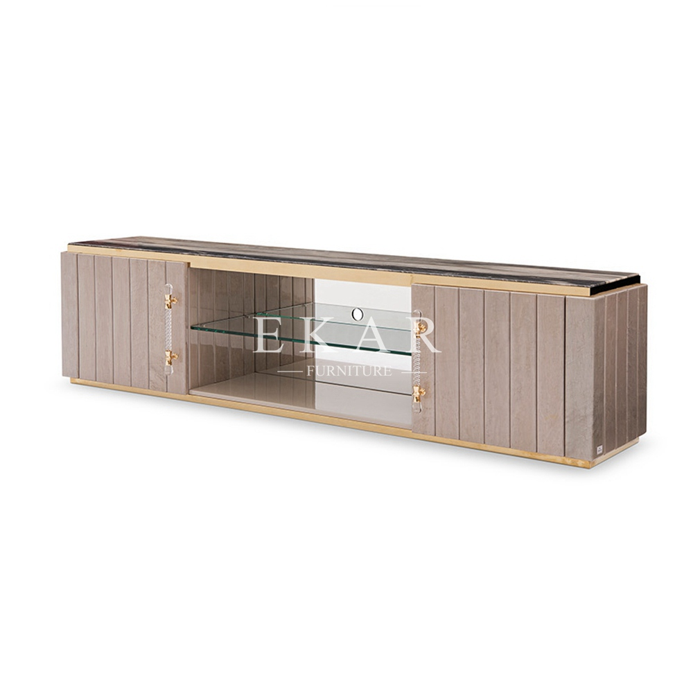 Marble Top Living Room Modern Tv Stand