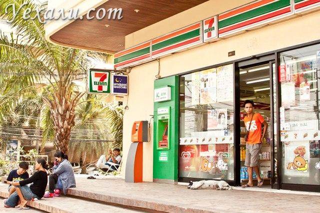 Купить симкарту в Тайланде можно в магазине 7 Eleven