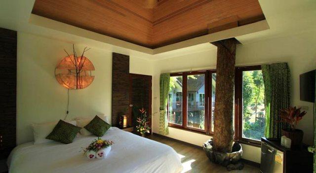 Самые необычные отели Таиланда: Rock and Tree House Resort, национальный парк Као Сок, Сураттани.
