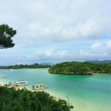 iphoneでここまで美しく写せる川平湾の蒼