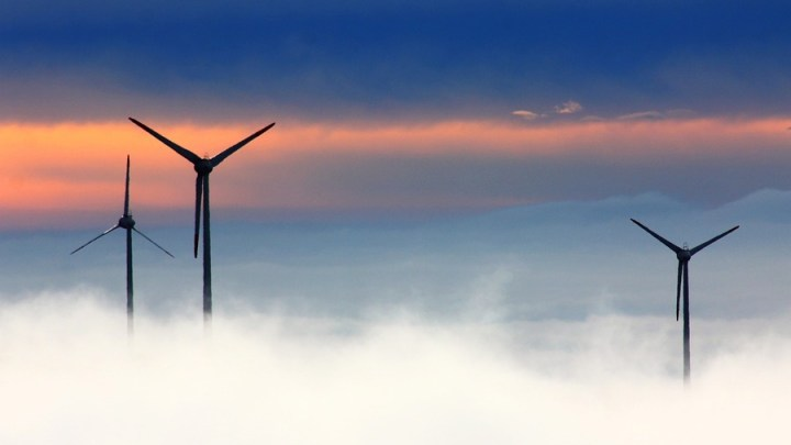 4. Windkraftanlage im Windpark Langenbrügge in Betrieb